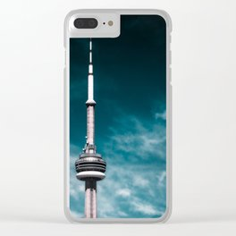 CN Tower Clear iPhone Case