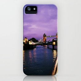 A Purple Point of View iPhone Case