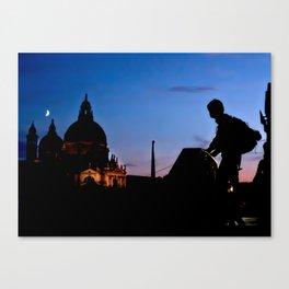Backpacker Blues Canvas Print