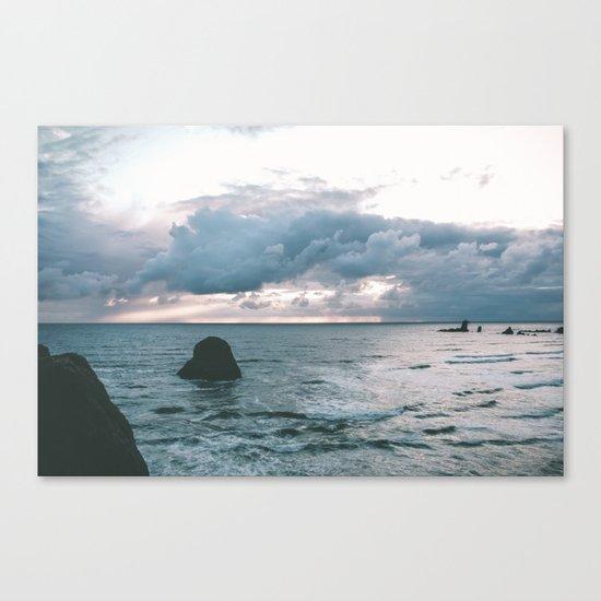 Oregon Coast X Canvas Print