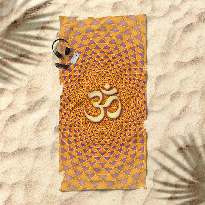 Lotus / Namaste Beach Towel
