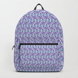 Loop Script Letter Y Pattern Backpack