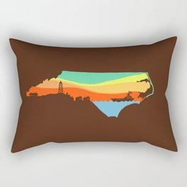 North Carolina Rectangular Pillow