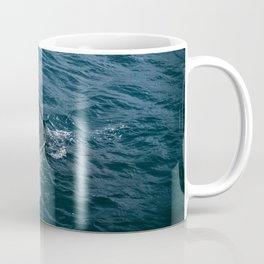Whale Tail Emerging from the Ocean Coffee Mug