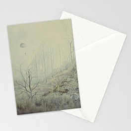 Into The Wolves' Den Stationery Cards