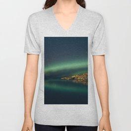The northern Lights Unisex V-Neck