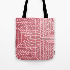 Robotic Boobs Red Tote Bag