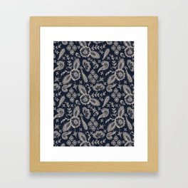 Pretty Lace Framed Art Print