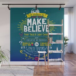 Gamer Geek Chic Earthbound Mother Inspired I Believe in You! Wall Mural