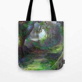 Elven Forest Tote Bag