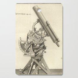 Jérôme Lalande's Astronomie (1771) - Telescope Apparatus 14 Cutting Board