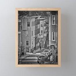 Beacon Hill Sketched Framed Mini Art Print