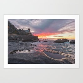 Natural show of Sicily Art Print