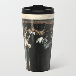 Edouard Manet, Masked Ball at the Opera, 1873 Travel Mug