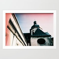 Paris: Eglise Saint Paul Saint Louis Art Print