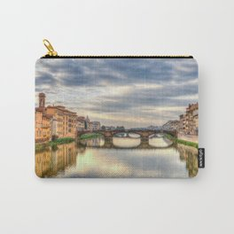 Arno River and Ponte Vecchio, Florence Carry-All Pouch