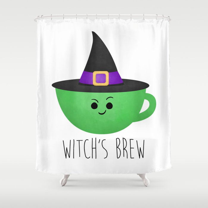 Witchs Brew Shower Curtain By Avenger