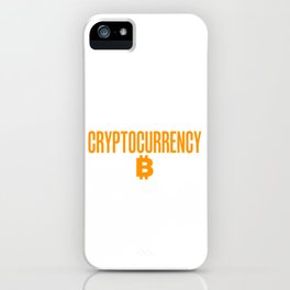 Beware of A Woman Who Is Educated Cryptocurrency iPhone Case