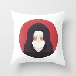 Darth Sidious Throw Pillow