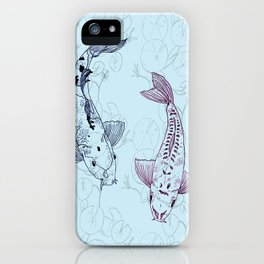 Koi carps iPhone Case