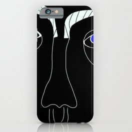 Judy Blue Eyes iPhone Case
