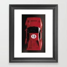 Super Car 13 Framed Art Print