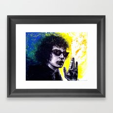 Chaos Is A Friend Of Mine Framed Art Print