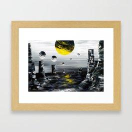 A Defining Moment Framed Art Print