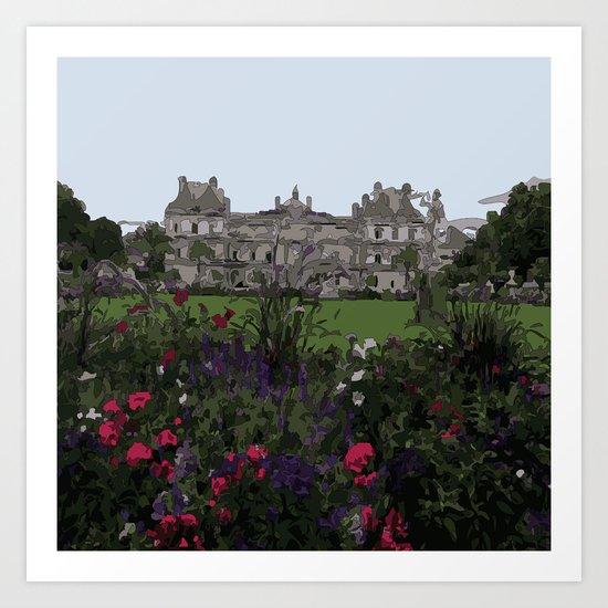 Jardin-du-Luxembourg Art Print