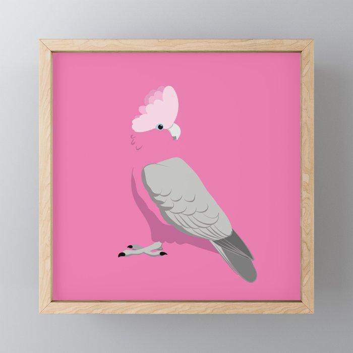 Galah Framed Mini Art Print