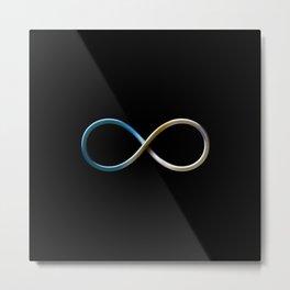 Infinity symbol Metal Print