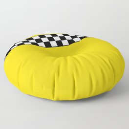 NY Taxi Cab Cosplay Floor Pillow