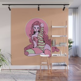 Stitched Together Wall Mural