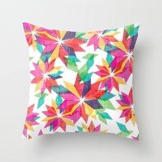 Geo Floral Throw Pillow
