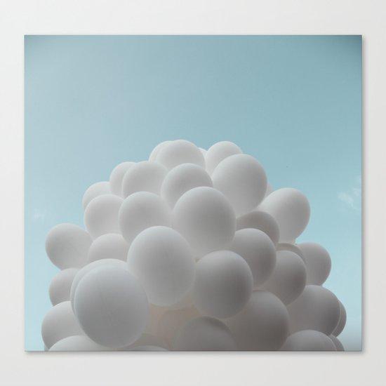 Lighter than air - balloons Canvas Print