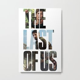The Last of Us (Tlou Collage) Metal Print