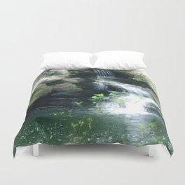 The Flowing Waterfall Duvet Cover