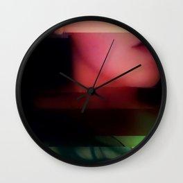 Deadly Digital Nightshade Wall Clock