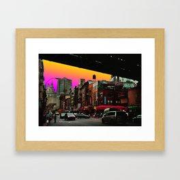 C-Town - New York Framed Art Print