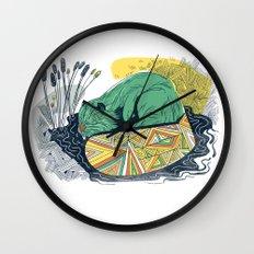The Beaver Wall Clock