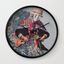 Seismic Wave Wall Clock