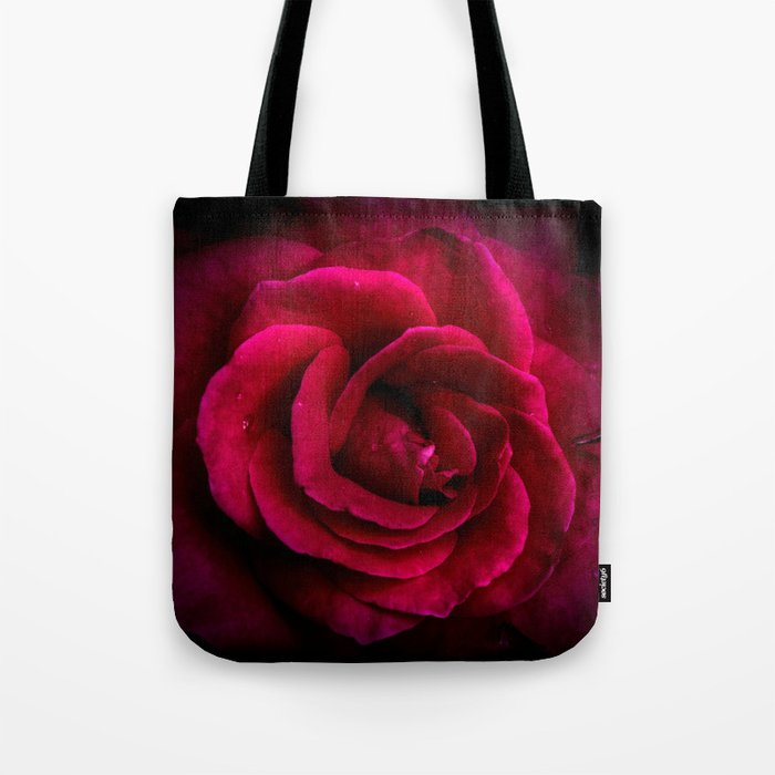 Texture Of A Rose Tote Bag