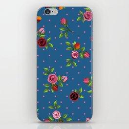 Boho Floral iPhone Skin