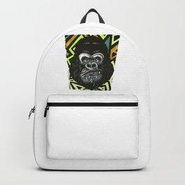 Cool Gorilla Illustration Backpack