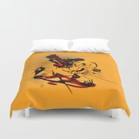 lotus Duvet Covers featuring Lotus by dBranes