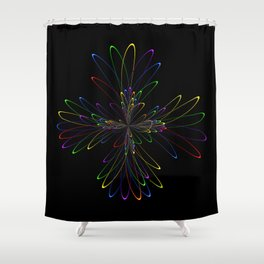 Abstract Perfektion 88 Shower Curtain