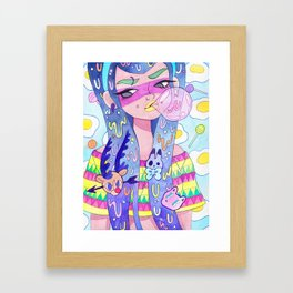 Eggy Framed Art Print