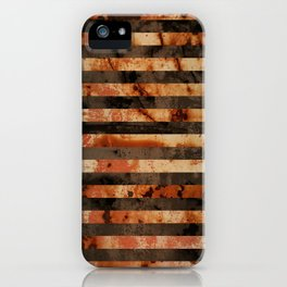 Rusty barrel abstraction iPhone Case