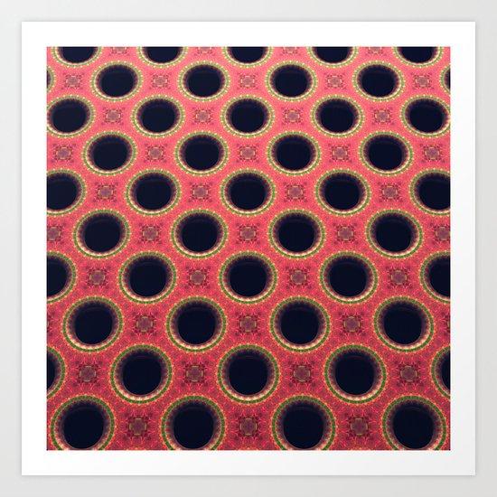 Fancy Holes Art Print