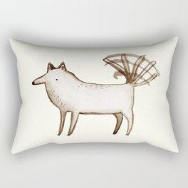 """I'm So Happy"" - Dog Rectangular Pillow"
